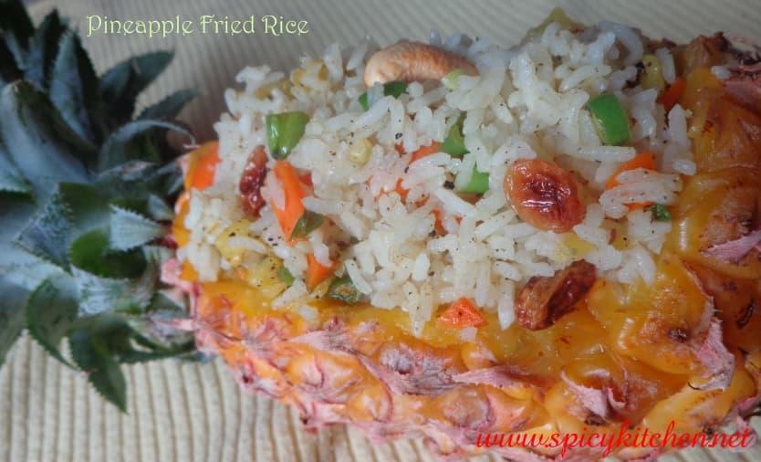 pineapple friedrice