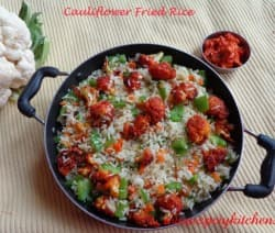 Cauliflower-friedrice