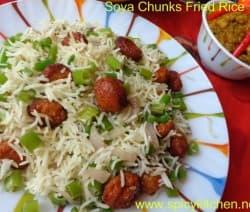 soya-chunks-fried-rice