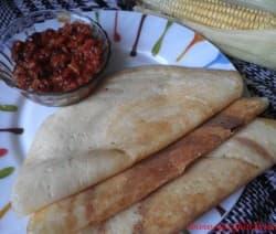 Corn Dosa - Spicy Kitchen
