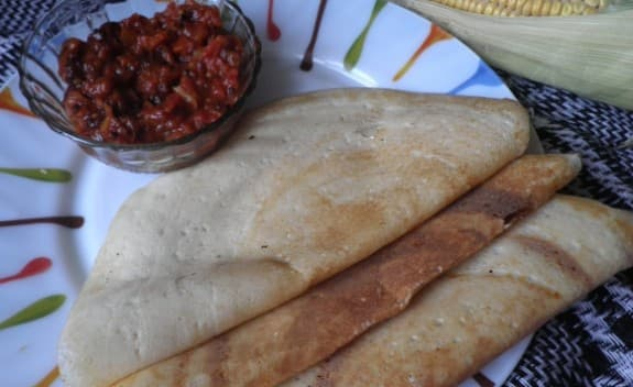 Corn Dosa - Spicy Kitchen