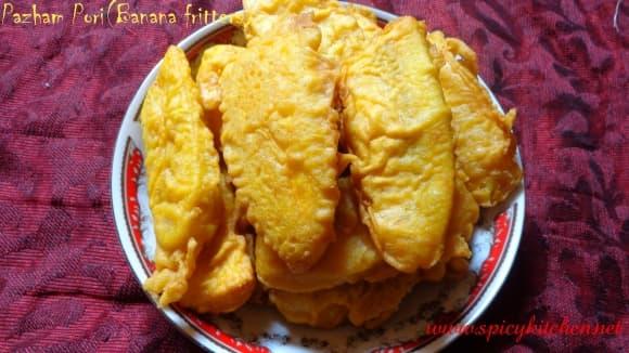 Crispy Banana Fritters Pazham Pori Spicy Kitchen