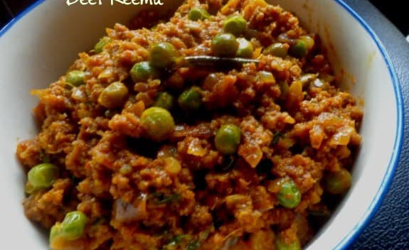 Beef Keema : Indian Ground Beef with Peas - Spicy Kitchen