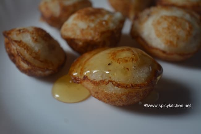 how to make sweet paniyaram