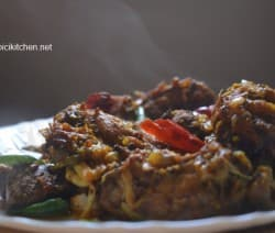 pepper chicken dry