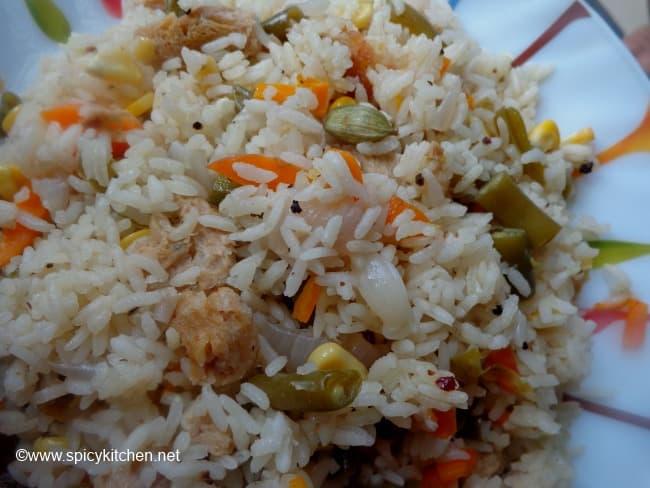 vegetable-pulao