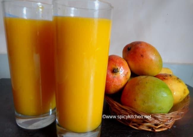 mango juice | how to make mango - 181.5KB